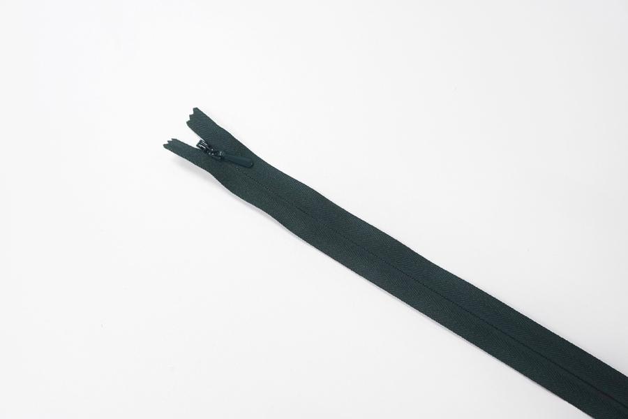 Молния темно-бирюзовая потайная 60 см YKK 03032140