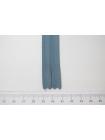 Молния серо-голубая потайная 60 см YKK 03032144