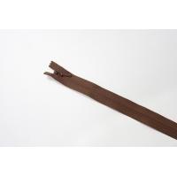Молния коричневая потайная 60 см YKK 03032146