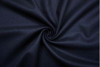Костюмная шерсть темно-синяя в клетку SR-CC70 11012177