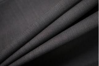 Тонкая костюмно-плательная шерсть темно-серая SR-D6 11012179