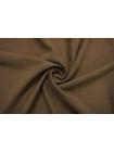 Тонкая костюмно-плательная шерсть коричневая TXH-CC30 11012180