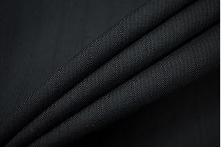 Тонкая костюмная шерсть черная TXH-D5 11012181