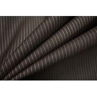 Тонкая костюмно-плательная шерсть в полоску SR-D4 11012184