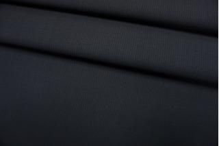 Тонкая костюмно-плательная шерсть графитовая в полоску Caccioppoli TXH-D4 11012185