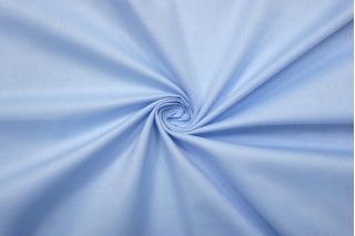 Хлопок рубашечный бело-голубой PRT-F3 11012195