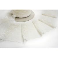 Кружево молочно-белое с блеском KR 11022178