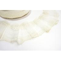 Кружево бело-молочное KR 11022186
