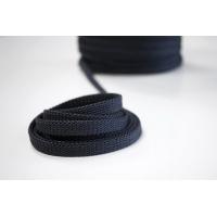 Шнур плоский темный сине-серый PRT 12042102