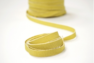 Лента репсовая желтая 1 см PRT 12042104