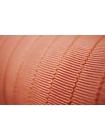 Лента репсовая персиковая 1 см PRT 12042105