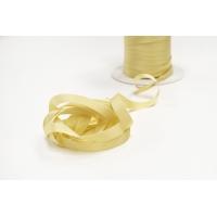 Лента репсовая золотистая 1 см PRT 12042113