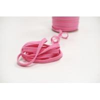 Шнур плоский розовый 0,8 см PRT 12042116