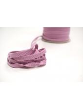 Шнур плоский пыльно-розовый 0,8 см PRT 12042120