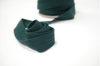 Лента для швов трикотажная темно-зеленая 3 см PRT 12042125