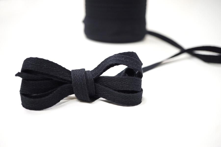Лента киперная  черная 1 см PRT 12042128