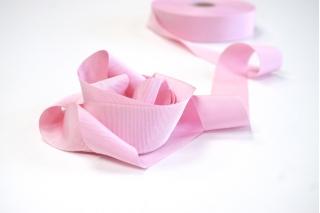 Лента репсовая розовая 3 см PRT 12042165