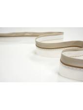 Корсажная лента для юбок и брюк молочно-бежевая 13012101
