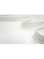 Корсажная лента для юбок и брюк белая 13012103
