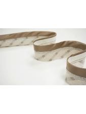 Корсажная лента для юбок и брюк какао 13012104