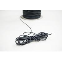 Резинка шляпная темно-серая 2 мм 13012108