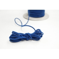 Резинка шляпная синяя 2 мм 13012116