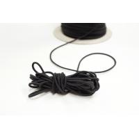 Резинка шляпная черная 2 мм 13012118