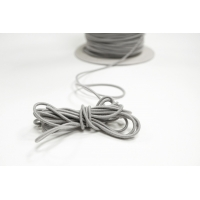 Резинка шляпная серая 2 мм 13012119