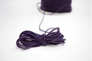 Резинка шляпная сливовая 2 мм 13012121 KR-6D