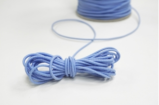 Резинка шляпная голубая 2 мм 13012124