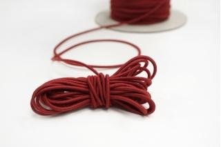 Резинка шляпная красная 2 мм 13012125
