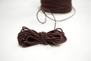 Резинка шляпная коричневая 2 мм 13012126