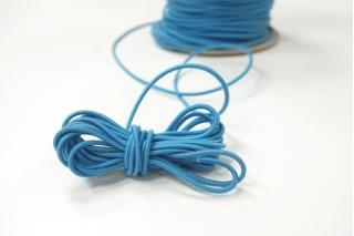 Резинка шляпная ярко-голубая 2 мм 13012133