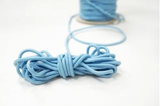 Резинка шляпная голубая 3 мм 13012135