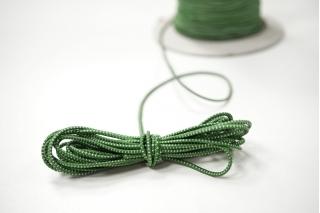 Резинка шляпная бело-зеленая 1,5 мм 13012138