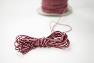 Резинка шляпная пепельно-розовая 1,5 мм 13012140