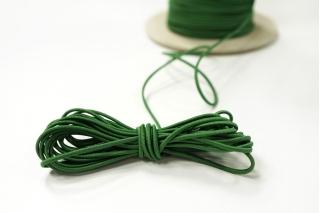Резинка шляпная зеленая 1,5 мм 13012141