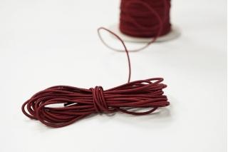 Резинка шляпная бордовая 1,5 мм 13012142