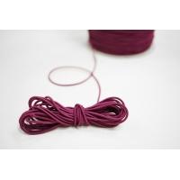 Резинка шляпная баклажанная 1,5 мм 13012145