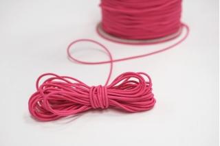 Резинка шляпная ярко-розовая 1,5 мм 13012147