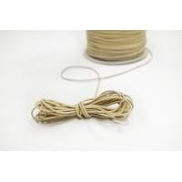 Резинка шляпная ярко-бежевая 1,5 мм 13012148