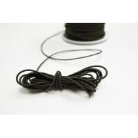 Резинка шляпная хаки 1,5 мм 13012151