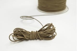 Резинка шляпная светло-коричневая 1,5 мм 13012153