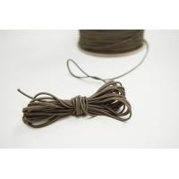 Резинка шляпная бежево-серая 1,5 мм 13012154