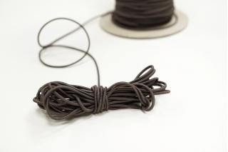 Резинка шляпная зеленовато-серая 1,5 мм 13012155