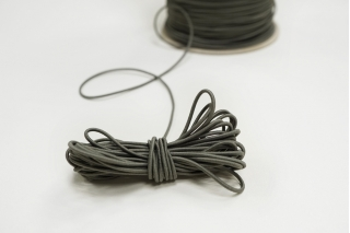 Резинка шляпная серо-оливковая 1,5 мм 13012156