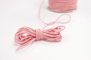 Резинка шляпная нежно-розовая 2 мм 13012157