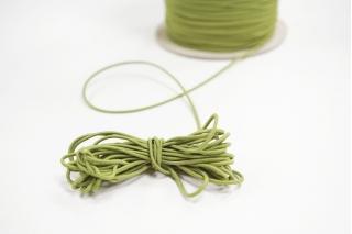 Резинка шляпная ярко-зеленая 1,5 мм 13012159