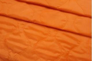 Курточная стежка на утеплителе оранжевая TRC-C6 25012104