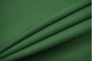 Креп костюмно-плательный поливискозный зеленый NST-E7 02022102